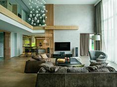 Дом на природе в современном стиле