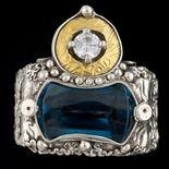 Intriguing ring by Hattie Sanderson.