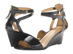 Nine West ReelyMind Black Leather - I can actually walk all day in the city with these