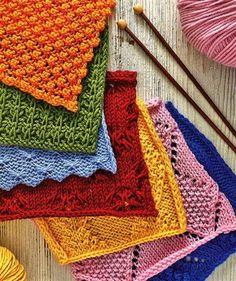 cotton yarn patterns on Pinterest Dishcloth, Crochet Dishcloths and Potholders