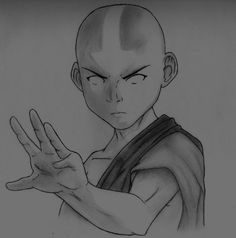 It& one of the first drawings I have done in months. I have missed drawing when keeping busy with school and work. Decided to make some time. I decided I wanted to draw Aang from Ava. Avatar Aang, Avatar Airbender, Make Avatar, Team Avatar, Aang The Last Airbender, Zuko, Legend Of Korra, Art Drawings Sketches, Character Art
