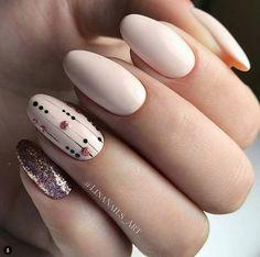 Tolle Bilder von beige nail art designs 2019 Nail Art pics of nail art Cute Nails, Pretty Nails, Beige Nail Art, Long White Nails, Long Nails, Hair And Nails, My Nails, Manicure E Pedicure, Nagel Gel