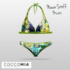 """Pünktlich zum #Sommeranfang sind unsere weiteren zwei neuen Stoffe eingetroffen! Trendy Muster """"Miami Beach"""" schaut mal vorbei: coccomia.de"""