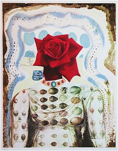 Salvador Dali, Surrealist Flower Girl