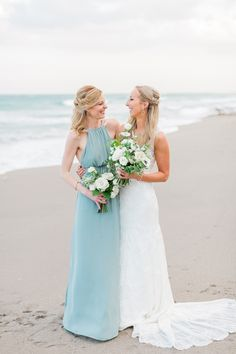 Beach Wedding Photos Seafoam blue beach wedding photos from L. - This Jupiter Beach Resort wedding has all of the inspiration coastal loving brides need! With a gorgeous seafoam and green color palette! Beach Wedding Colors, Beach Wedding Reception, Beach Wedding Photos, Beach Wedding Decorations, Destination Wedding, Beach Weddings, Jamaica Wedding, Wedding Lanterns, Wedding Destinations