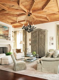 That wood ceiling - wow!