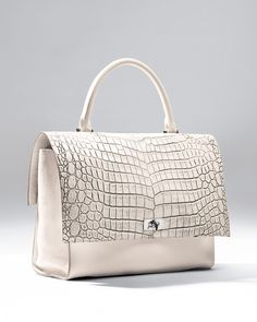 Givenchy Shark Medium Stamped Crocodile Bag