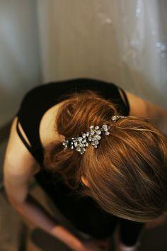 Hair sparkle.