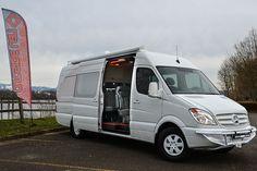 Whiteout - Outside Van