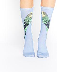 ☆★☆Monki Bing Budgie Socks