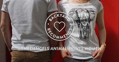 BACKYARD RECOMMENDS - ARMEDANGELS ANIMAL-PRINTS WOMEN