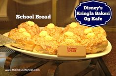 School Bread at Kringla Bakeri Og Kafe Menu - Table Service Restaurant at Epcot #DisneyDining #WaltDisneyWorld