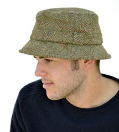 Men S Luxury Hat New Fall And Winter Uv Measures Mens Cap Tweed Harris