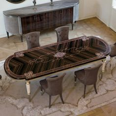 LAYTON - Designer Dining tables from Longhi S.p.a. ✓ all information ✓ high-resolution images ✓ CADs ✓ catalogues ✓ contact information ✓ find..