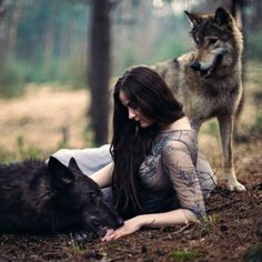 """""""Those are the voices of my brothers, darling; I love the company of wolves."""" ― Angela Carter, Burning Your Boats: The Collected Short Stories Fantasy Photography, Animal Photography, Le Husky, Animals And Pets, Cute Animals, Wolf Hybrid, Wolves And Women, Wolf Love, Wolf Pictures"""