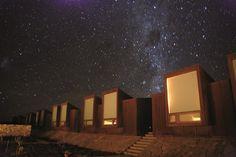 Hotel no Atacama alia paisagens exuberantes com clima romântico e intimista