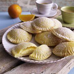 Süße Ricotta-Ravioli Rezept   LECKER