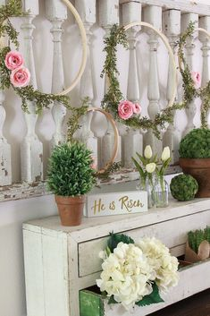 Come On In And Welcome To My Easter Decor Tour 2018 I M Joining