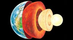 Earth's core is much hotter than previously thought – hotter than the surface of the Sun.  Article published April 25, 2013