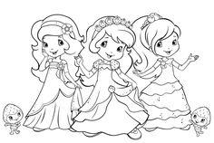 Desenhos de Moranguinho e sua turma para colorir, pintar, imprimir! - Espaço Educar desenhos para colorir
