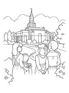 Lds Temple Coloring Page Awesome Pin by Latter Day Array On Primary Coloring Pages Lds Coloring Pages, Family Coloring Pages, Easter Coloring Pages, Christmas Coloring Pages, Coloring Pages For Kids, Coloring Books, Kids Coloring, Printable Coloring, Coloring Sheets