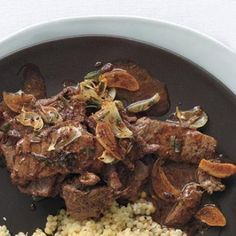 Sautéed Beef with White Wine and Rosemary