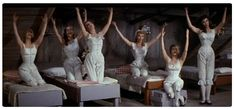 """""""Seven Brides For Seven Brothers"""" (1954) - 'Oh, they say when you marry in June...'"""
