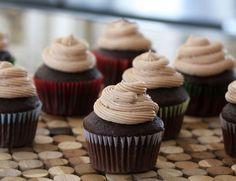 Moist Chocolate Cupcakes With Malted Milk Frosting