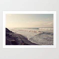 waves Art Print by Shannonblue - $19.00