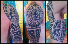 Polynesian style, Alpha Assassi Tattoo