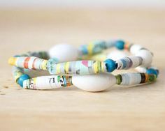 Paper Beads Inspired by TrashyCrafter