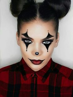 52 Ideas makeup looks halloween make up Maquillage Halloween Clown, Halloween Makeup Clown, Halloween Makeup Looks, Halloween Looks, Halloween 2018, Halloween Costumes Diy Scary, Halloween Makeup Tutorials, Halloween Hair, It Costume