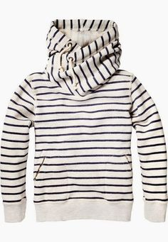 MODE THE WORLD: Stripes Comfy North Face Hoodie