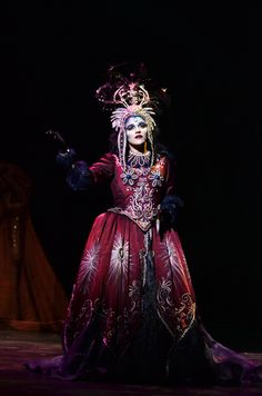 Can you hit a high F? Our Queen of the Night, Jeanette Vecchione can. The Magic Flute.