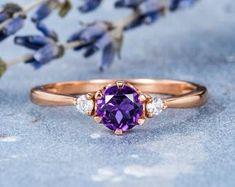 HANDMADE RINGS & BRIDAL SETS by MoissaniteRings on Etsy Amethyst, Sapphire, Bridal Ring Sets, Handmade Rings, Heart Ring, Gold Rings, Etsy Seller, Rose Gold, Engagement Rings