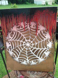 Spider web canvas