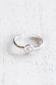 Peace Toe Ring