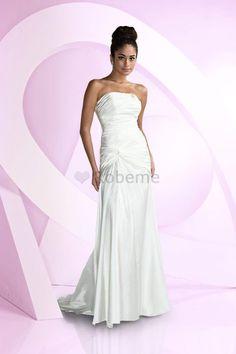 p-ag0f-robe-de-mariee-chic-sexy-avec-perle-de-traine-courte-fourreaux-plisses.jpg (600×900)
