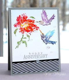 Create with Sweet Visit (Penny Black Stamp) and MISTI http://virginialusblog.blogspot.ca/2015/03/misti-is-here.html