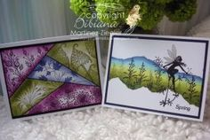beautiful samples from Lavinia Stamps design team