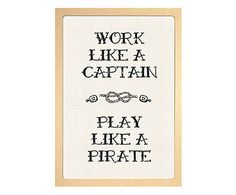 Pôster Pirate - A3