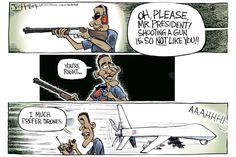 Obama goes shooting