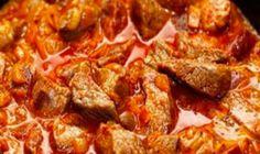 Tvarohový koláč so Salkom: Nečakajte nič presladené – je taký fantastický, že z tvarohu doma už nič iné nepečieme!   Báječná vareška Main Dishes, Side Dishes, Stuffed Mushrooms, Stuffed Peppers, Eclairs, Tomato Paste, What To Cook, Side Dish Recipes, Pepperoni
