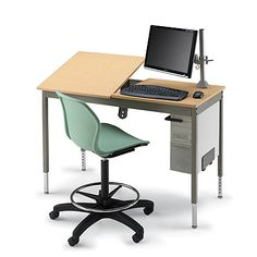 the splittop graphic arts table provides a standard work area with an adjustable incline and a flat work surface