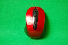 Kabellose Funk Maus Wireless Mouse, 2,4 GHz Funkmaus, Scrollrad, ergonomisch