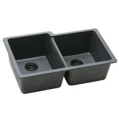 This stylish Elkay Gourmet undermount sink will give your kitchen a modern upgrade. Constructed with solid granite, this sink will complement any home decor. Bowl Depth: 9.5 inches (241mm) Color Optio