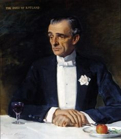 John Manners, 9th Duke of Rutland - Sir Oswald Birley (1936)