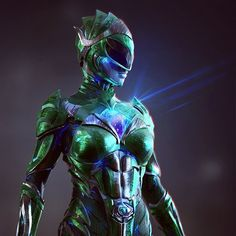 Power Rangers Concept Art Shows Rita Repulsa as the Green Ranger Power Rangers 2017, Power Rangers Reboot, Go Go Power Rangers, Green Power Ranger, Power Ranger Party, Power Rangers Pictures, Rita Repulsa, Pawer Rangers, Right In The Childhood