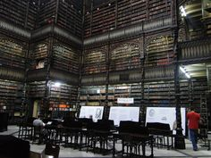 Real Gabinete Portugues de Leitura- A really pretty Brazilian library in Rio de Janeiro. It's a little dark, but still amazing.