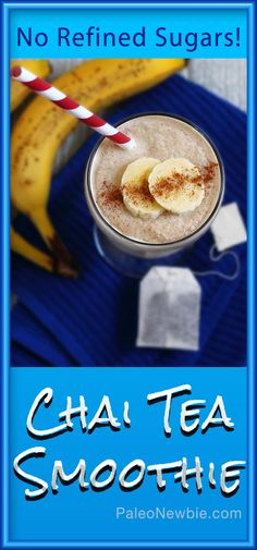 Healthy, thick & so refreshing! Sweetened with ripe bananas and raw honey. Follow the super-simple recipe and enjoy!
